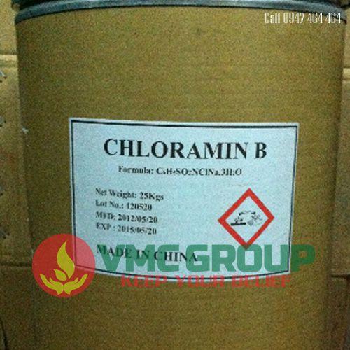 CHLORAMIN B CLORAMIN B TRUNG QUOC 25KG